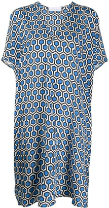 Christian Wijnants Geometric Print Dress