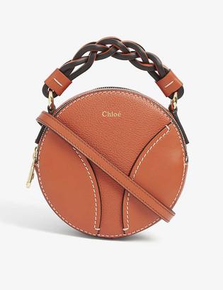 Chloé Daria mini round leather cross-body bag
