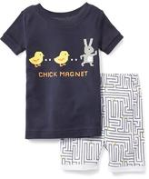 "Old Navy ""Chick Magnet"" Sleep Set for Toddler"