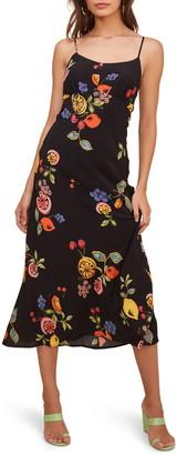 ASTR the Label Charisma Tie Back Sleeveless Midi Dress