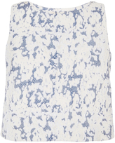Brock Collection Cloud Print Bally Blouse
