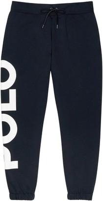 Polo Ralph Lauren Navy logo jersey sweatpants