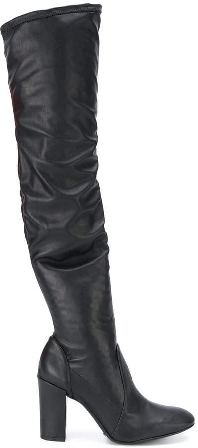 Schutz knee length boots