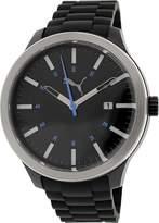 Puma Men's PU103612004 Silicone Analog Quartz Watch