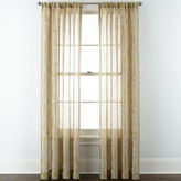 Liz Claiborne Giselle Floral Rod-Pocket Curtain Panel