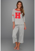 Tommy Hilfiger Bball Tee/Capri Set (Soft Grey) - Apparel