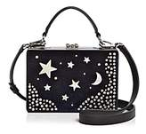 Nasty Gal Girl Boxx Trunk Star Moon Velvet Crossbody