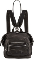 MCM Transformer Small Leather Backpack, Black