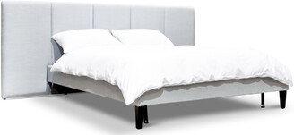 Calibre Furniture Smithson Bed King Cement Grey