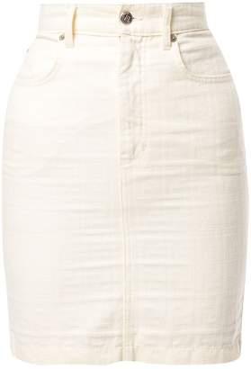 Fendi Pre-Owned Zucca print skirt