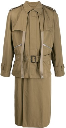 Stella McCartney Andy belted trench coat