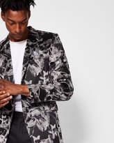 Ted Baker LISCONJ Pashion floral jacquard velvet jacket