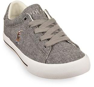 Polo Ralph Lauren Boy's Easten II Chambray Sneakers