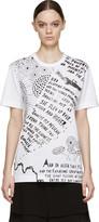 Juun.J White Tiny Bird Rob Ryan Edition T-Shirt