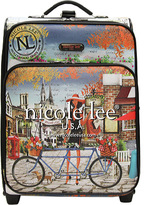 "Nicole Lee Print 21"" Expandable Rolling Carry-On"