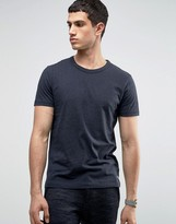 Selected Crew Neck T-shirt in Marl