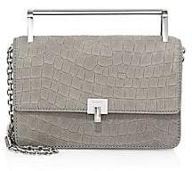 Botkier Women's Lennox Croc-Embossed Leather Top Handle Bag