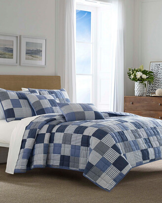 Nautica Holly Grove Blue Quilt Set