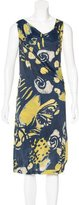 Piazza Sempione Printed Midi Dress