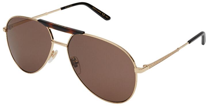 Gucci Men's Gg0242s 59Mm Sunglasses