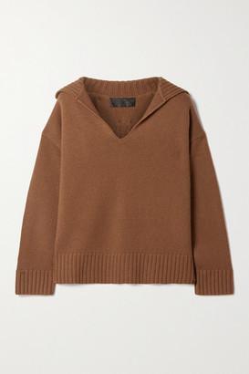 Nili Lotan Julie Cashmere Sweater - Brown