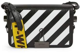 Off-White Off White Mini Leather Diagonals Cross-Body Bag