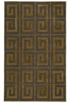 Payne Rizzy Home Vicki Collection Greek Key 3-Foot x 5-Foot Rug in Grey