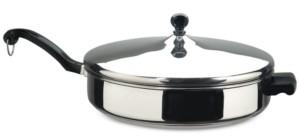 Farberware Classic Series Stainless Steel 4.5-Qt. Saute Pan & Lid