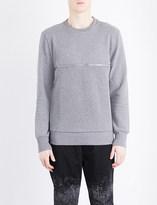 Diesel S-Dry cotton-jersey sweatshirt