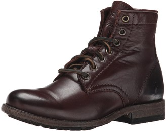 Frye Women's Tyler Lace Up-SVL Combat Boot