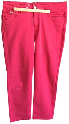 Gerard Darel Pink Cotton - elasthane Jeans for Women