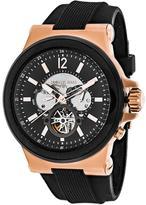 Michael Kors Dylan MK9019 Men's Round Black Rubber Watch