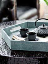 Regina-Andrew Design Regina Andrew Design Hexagonal Wood Tray