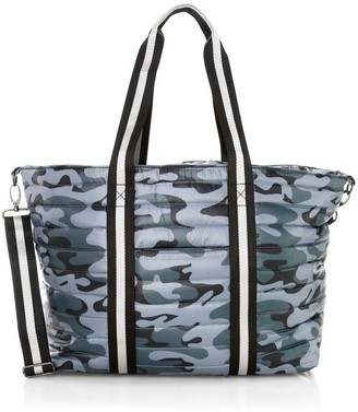 Think Royln Wingman Camo Quilted Tote