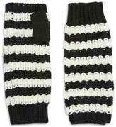 Forever 21 FOREVER 21+ Striped Fingerless Gloves