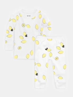 12 | 12 2-Piece Organic Cotton Pajama Set