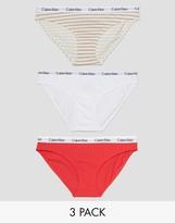 Calvin Klein Carousel 3 Pack Bikini Brief