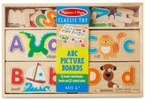 Melissa & Doug Kids' ABC Alphabet Picture Boards