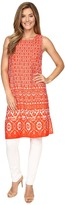 Vince Camuto Sleeveless Diamond Lantern Long Tunic