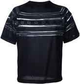 Kolor striped detail jumper
