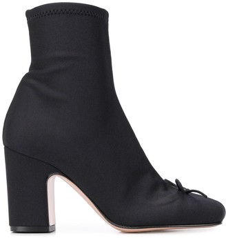 RED Valentino RED(V) sock-style ankle boots