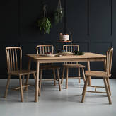 Rose & Grey Nordic Wooden Dining Table