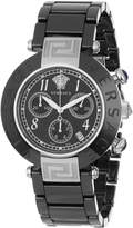 Versace Women's 95CCS9D008 SC09 Reve Black Ceramic Chronograph Watch