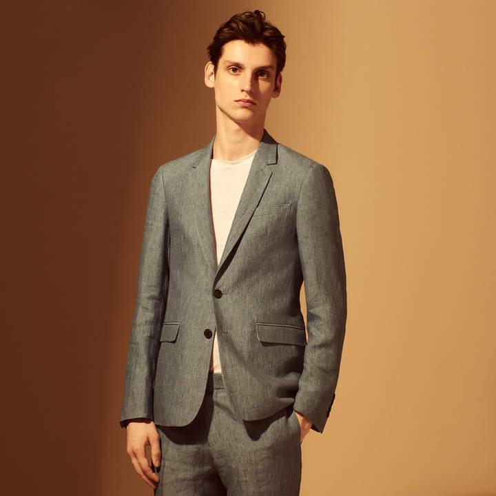 Sandro Slim-fit linen jacket