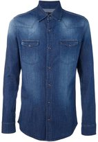 Daniele Alessandrini button down denim shirt