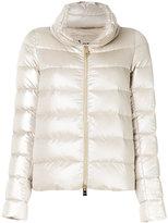 Herno zip up collar puffer jacket