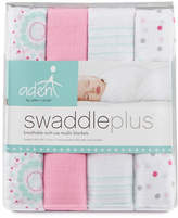 Aden By Aden And Anais Four-Piece Sweet In Pink Swaddle Set