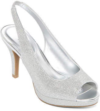 WORTHINGTON Worthington Womens Dayne Pumps Peep Toe Stiletto Heel