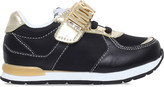 Moschino Logo leather trainers 3-5 years