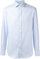 Armani Collezioni checked shirt - men - Cotton - 38